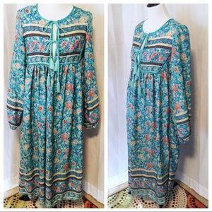 NWOT~ BoHo Girl Maxi Dress -Size XLarge
